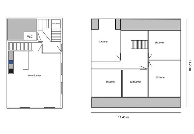 AppartementPlattegrond